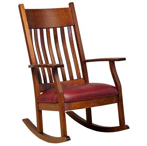 amish made rocking chair cushions wheelchair killer solid wood oakland rocker nursery decor pinterest