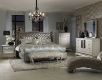 Romantic Decoration Upholstered Bedroom Sets for Women
