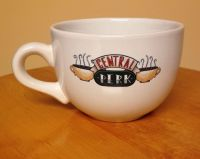 HUGE Friends Central Perk Mug White coffee cup-MINT ...