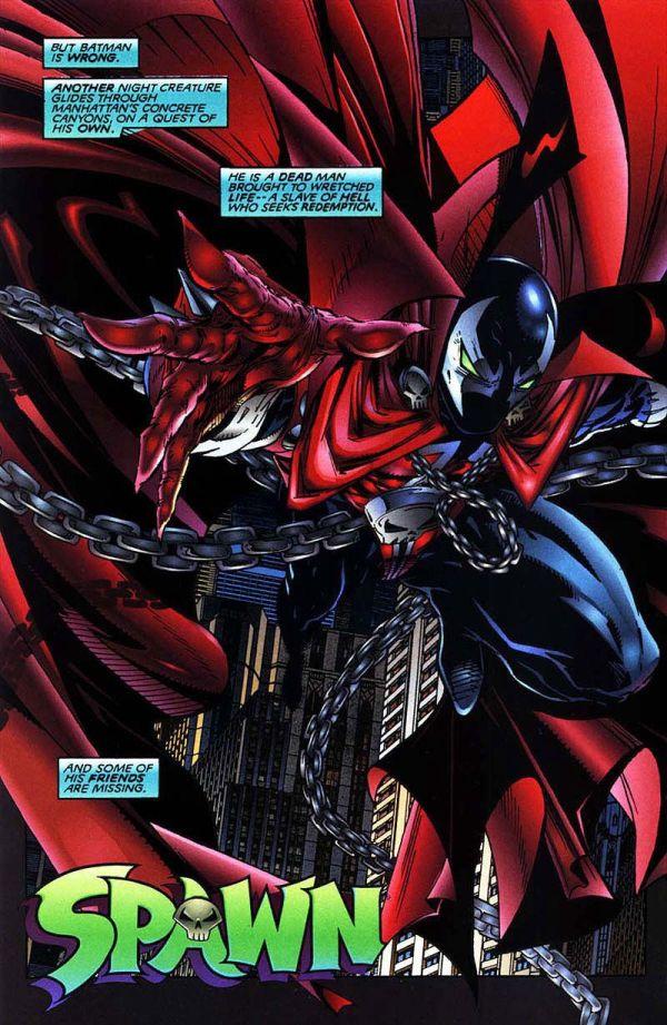 Spawn Batman Todd Mcfarlane Comics Comic Books