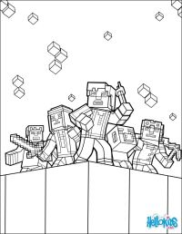 Minecraft Coloring Book Games | Coloring Pages