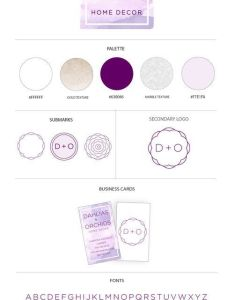 Interior designer logo design brand identity ideas also rh fi pinterest