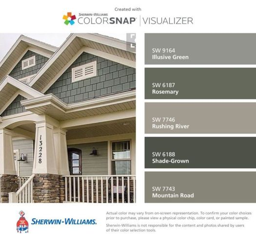 Sherwin williams exterior paint colors 2017 home painting for Exterior paint color trends 2017