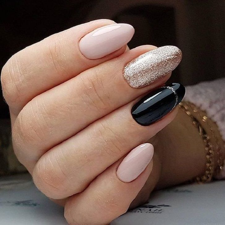 Beautiful mismatched nail art designs