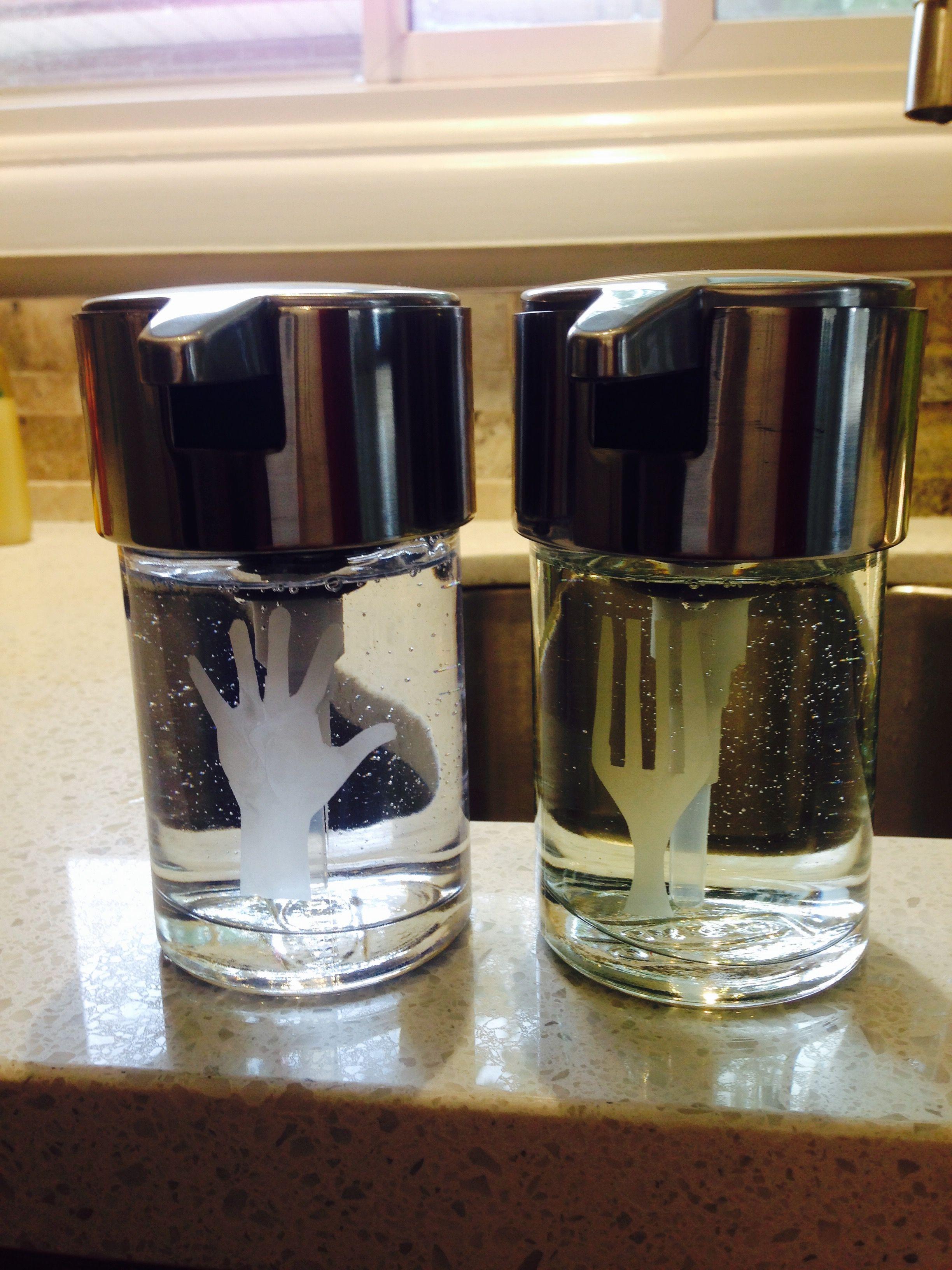 kitchen dish soap dispenser exhaust hoods customized ikea kalkgrund dispensers for the