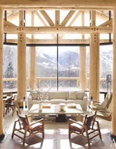 Look inside  contemporary colorado lodge aspen cabin and design firms also rh pinterest