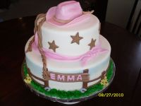 cowgirl baby shower cakes | Maegan's Baby Shower ...