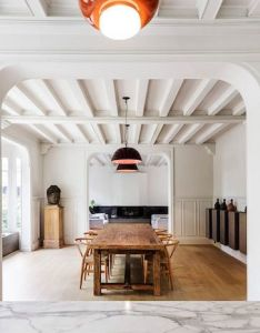 Interior of th century french home gets  stunning modern makeover also rh pinterest