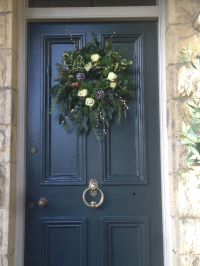 For my front door I loved the chalky black of Farrow ...
