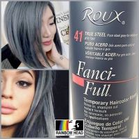 #mulpix Roux Fanci-Full Rinse TRUE STEEL Temporary Hair ...