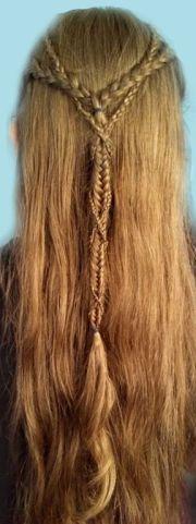 beautiful elven braids