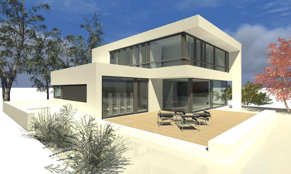 Architektur  Der a2 Lcube ein Einfamilienhaus in