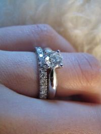 Dream set: Solitaire 1895 and wedding band from Cartier ...