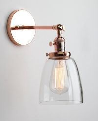 Permo Industrial Edison Antique Single Sconce With Oval ...