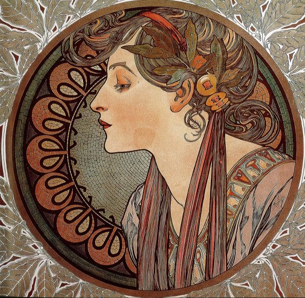 Great Source Of Inspiration Graphic Design And Illustration Art Nouveau