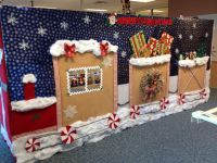 Cubicle Christmas decorations | Crafts | Pinterest ...