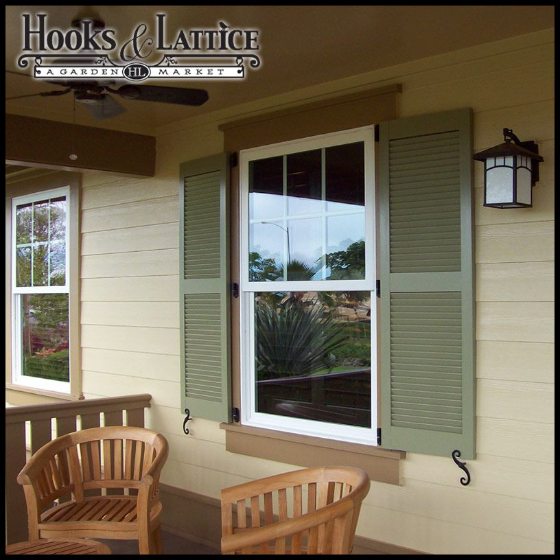 Outdoor Shutters Will Look Their Best If They Are Mounted With