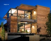 Awesome Modern Modular Prefab House with Wooden Wall and ...