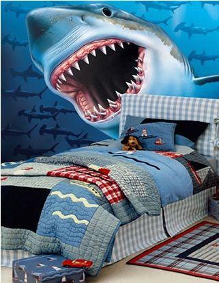 Shark Bedroom on Pinterest  Shark Room Shark Bathroom and Ocean Bathroom Decor