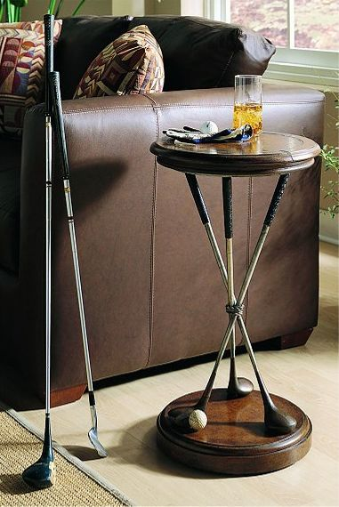 Golf Round Accent Table by Hooker Furniture  Gary and His