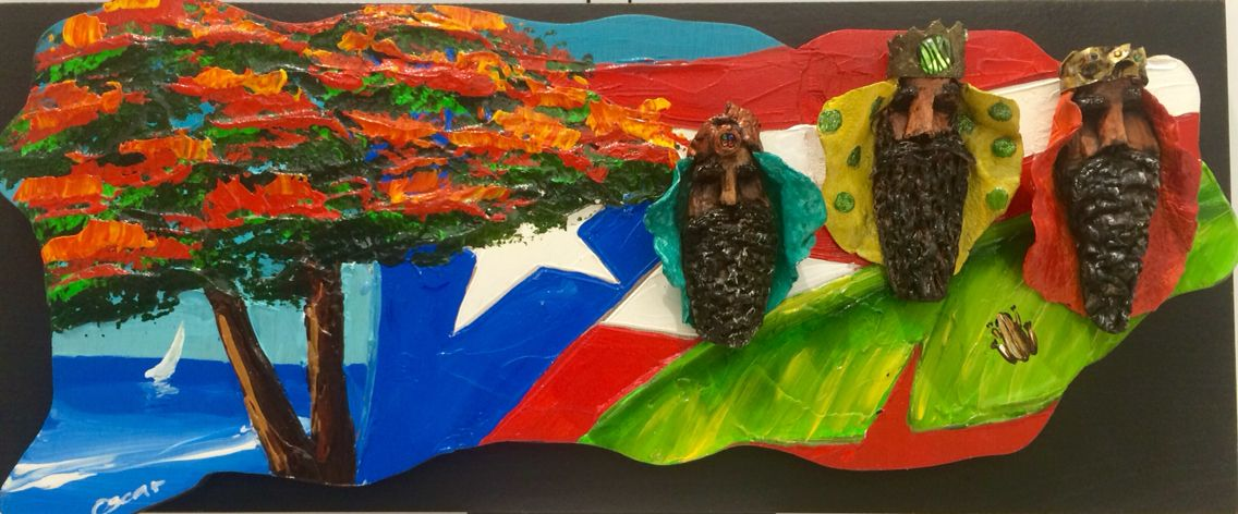 Reyes Magos Puerto Rico Flamboyan Mapa De Puerto Rico