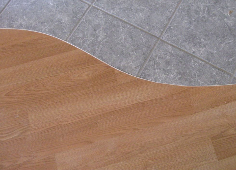Drawing of Tile to Wood Floor Transition Ideas