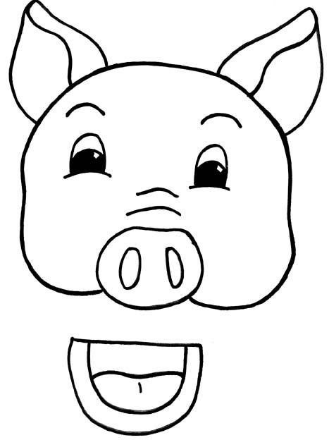 Pig Puppet Patterns Printable