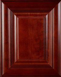 """Cherry wood door - """"Burgundy"""" stain   Cabinet Door Colors ..."""