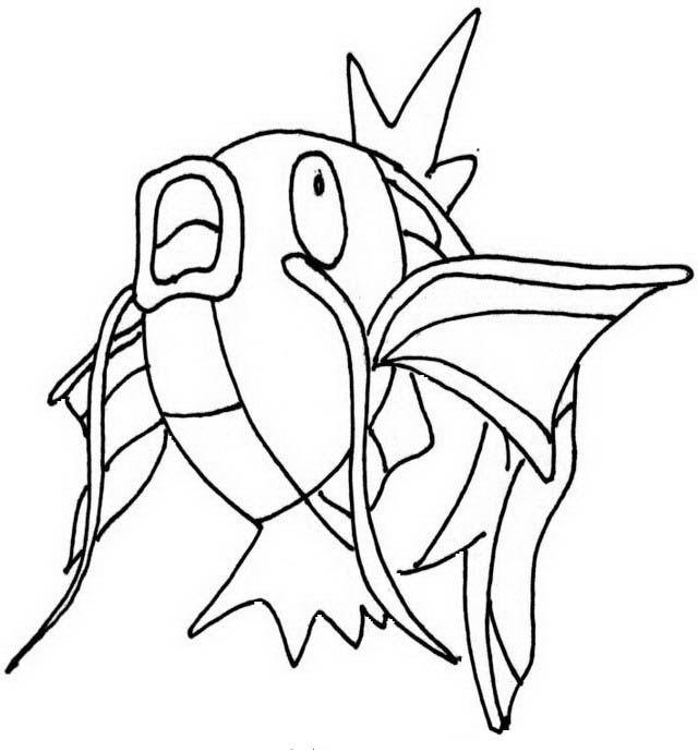 Disegni da colorare per bambini. Colorare e stampa Pokemon