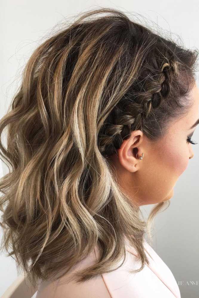 30 Cute Braided Hairstyles for Short Hair
