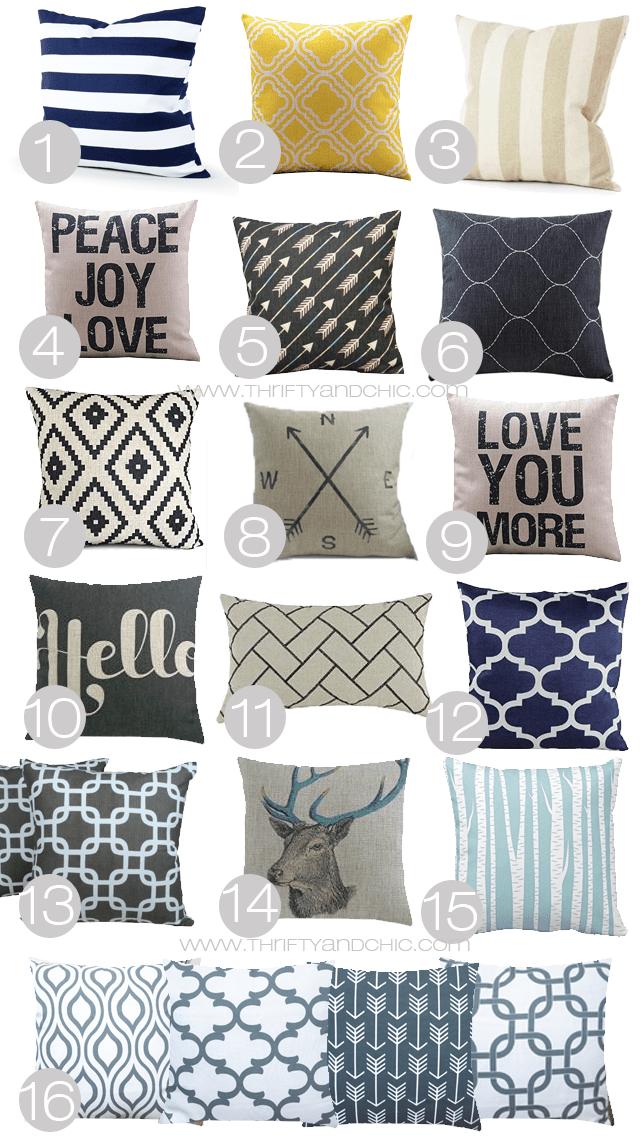 25 best ideas about Cheap throw pillows on Pinterest