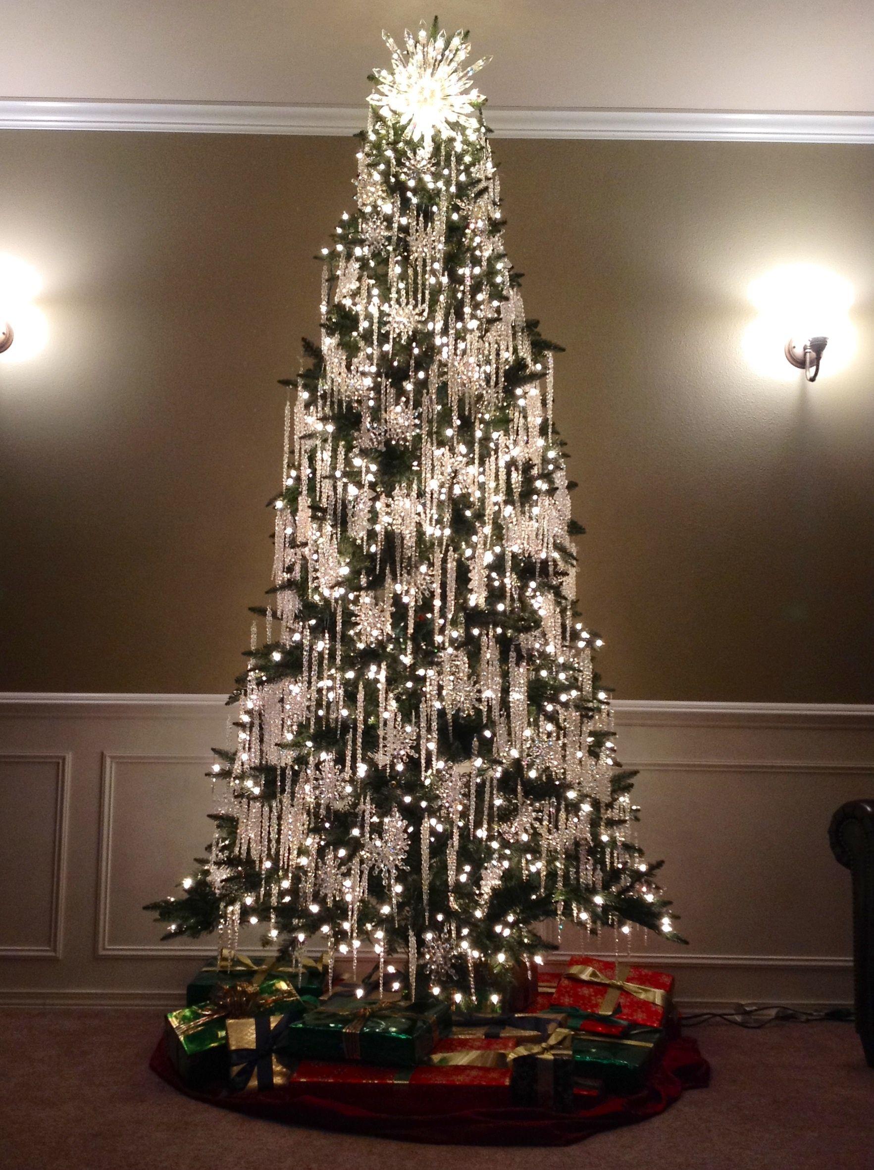 Cascading Christmas Lights