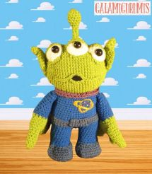 Ravelry: Monsters Inc. Baby Mike and Sulley pattern by Josephine Wu | 246x215