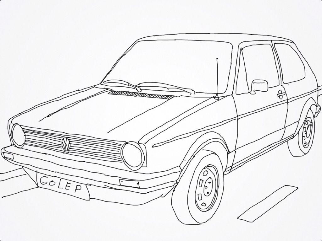 Vw Golf Mk 1 Drawing