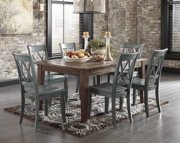Rustic Dining Room Table Rustic 5pc Table And Side