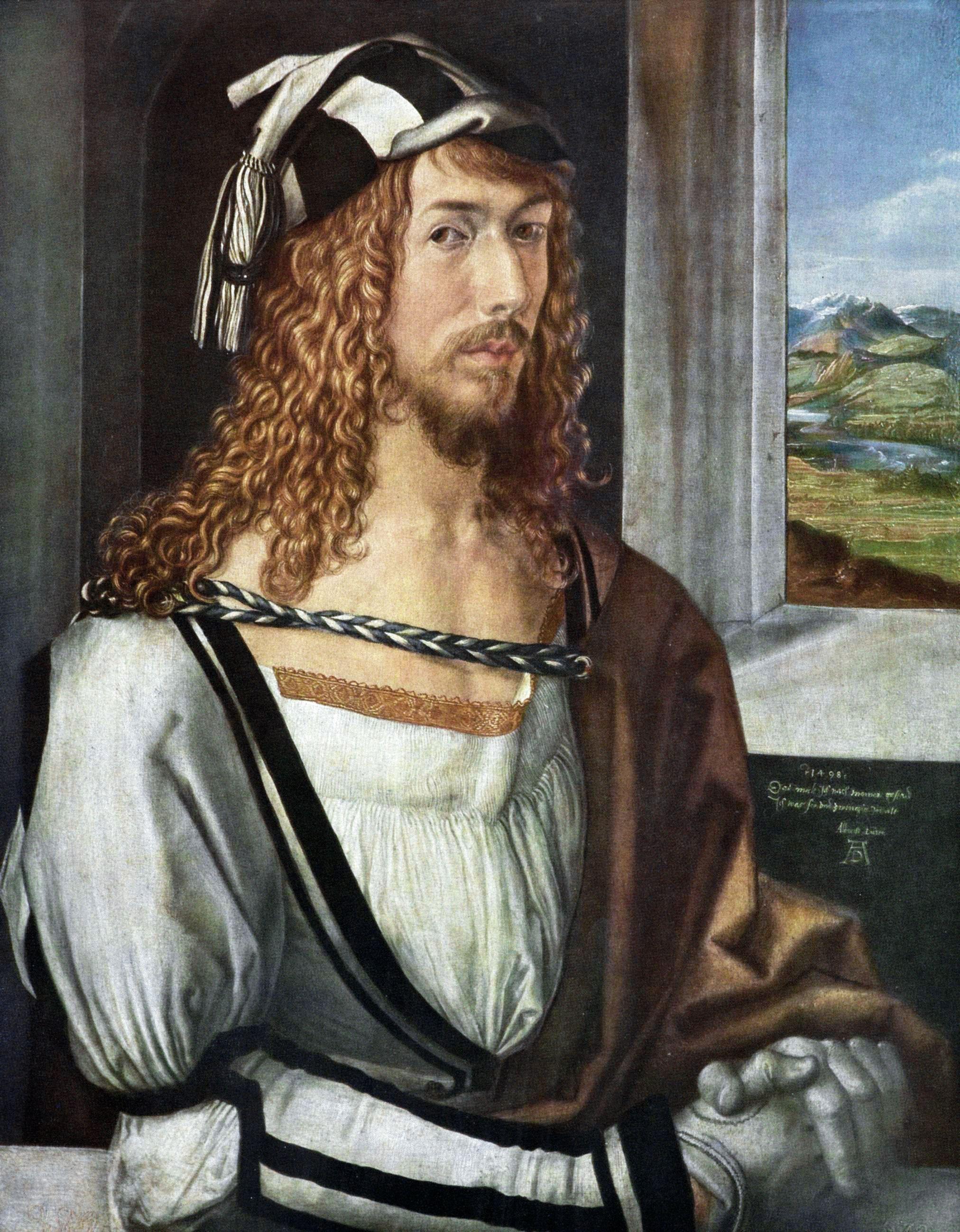 Durero Self Portrait