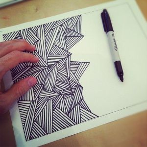 sharpie marker drawings markers drawing awesome easy simple cool sharpies sketch doodle pencil