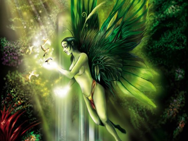 Cool Art Fairy Wallpaper Angelwallpapers.in Fantasy