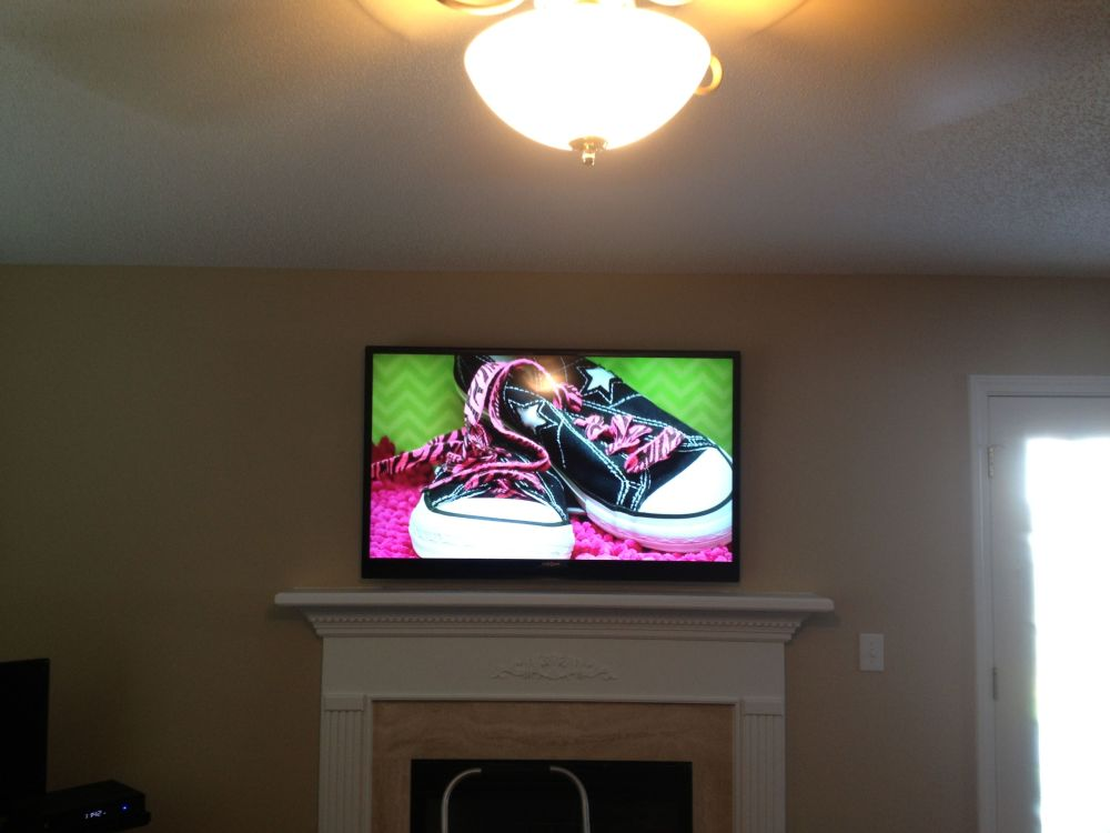 medium resolution of charlotte home theater installation projector surround wiring tv mounting flatscreen tv
