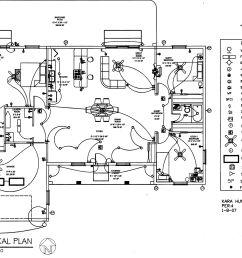 electrical plan autocad [ 2956 x 2104 Pixel ]