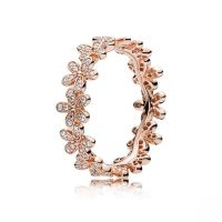 PANDORA Rose and Sterling Silver Bracelet | Band rings ...