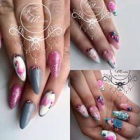 Kirsty Meakin Nail Art, Pink Flamingo | NAIO NAILS ...