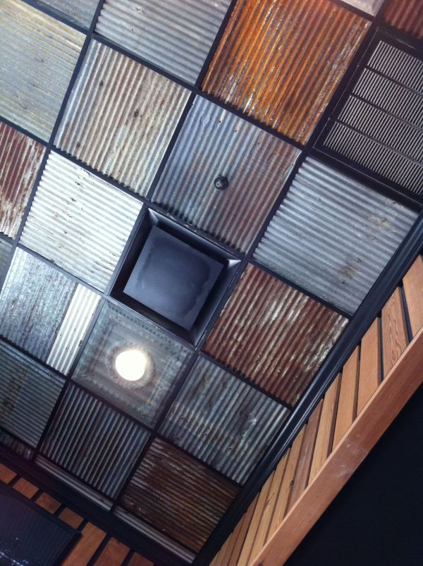 Corrugated Metal Ceiling Drop Panels Vtwctr