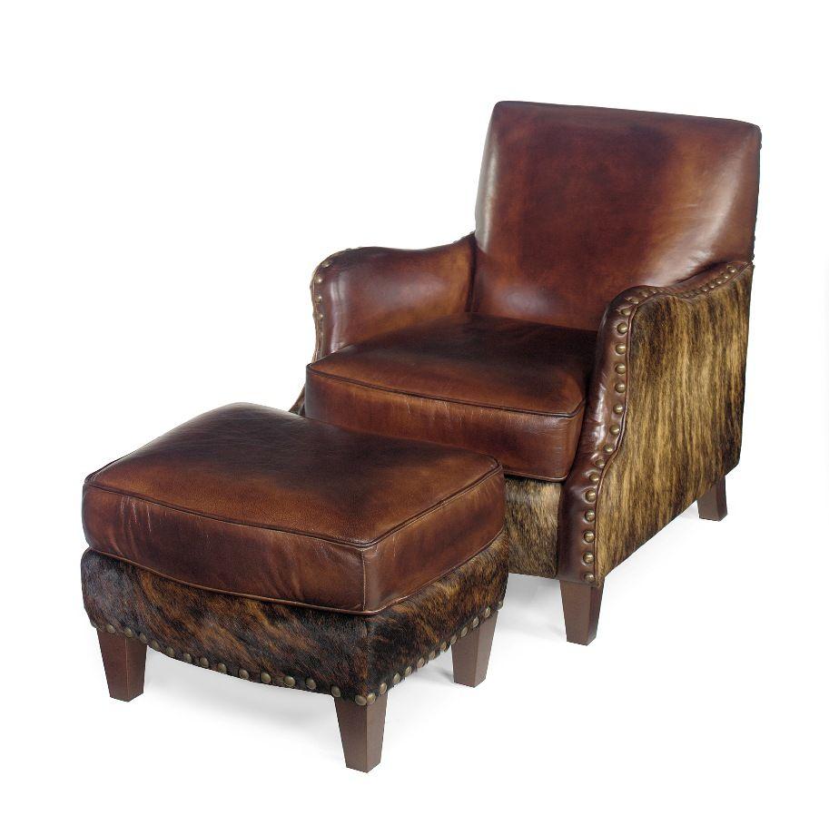 Cowhide Chair  Western Chair  Cowhide Ottoman  Anteks