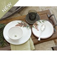 Southern Living Holiday Branch Dinnerware | Porcelain ...