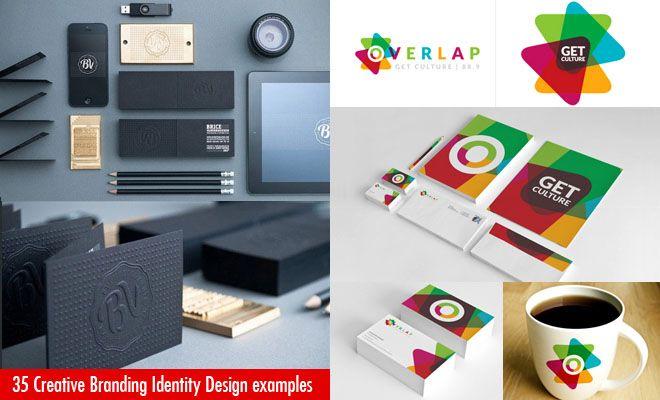 35 Creative And Beautiful Branding Identity Design
