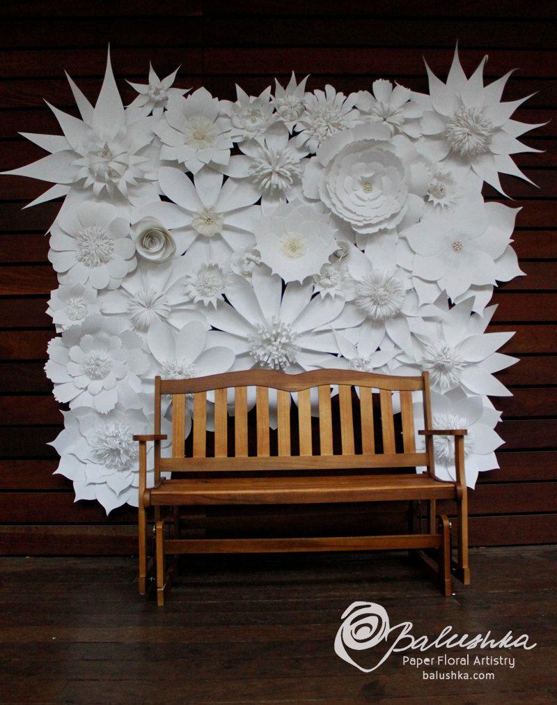 Best 25 Paper Flower Backdrop Ideas On Pinterest Flower