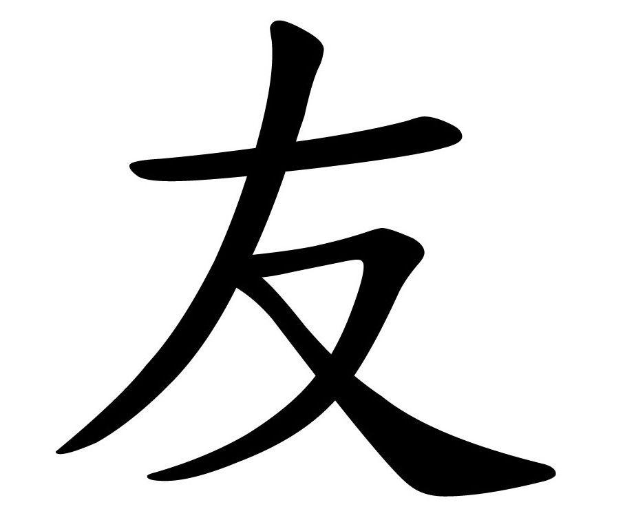 respect chinese symbol tattoo