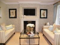 Fresh Wall Wallpaper Living Room | Home Decor Ideas ...
