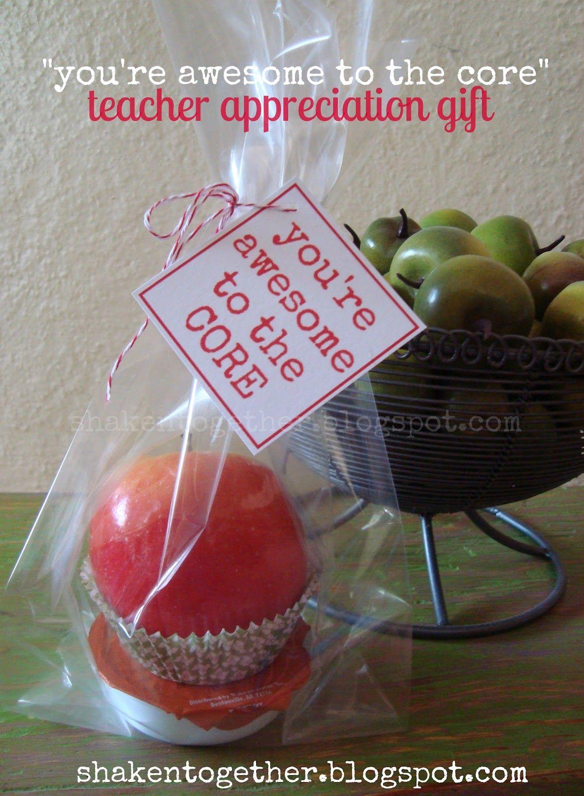 Appreciation Ideas With Apples